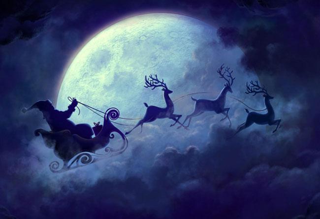 Une balade contée sur le Père Noël