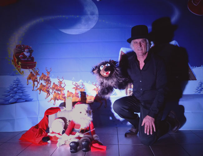 Présentation d'un spectacle de Noël